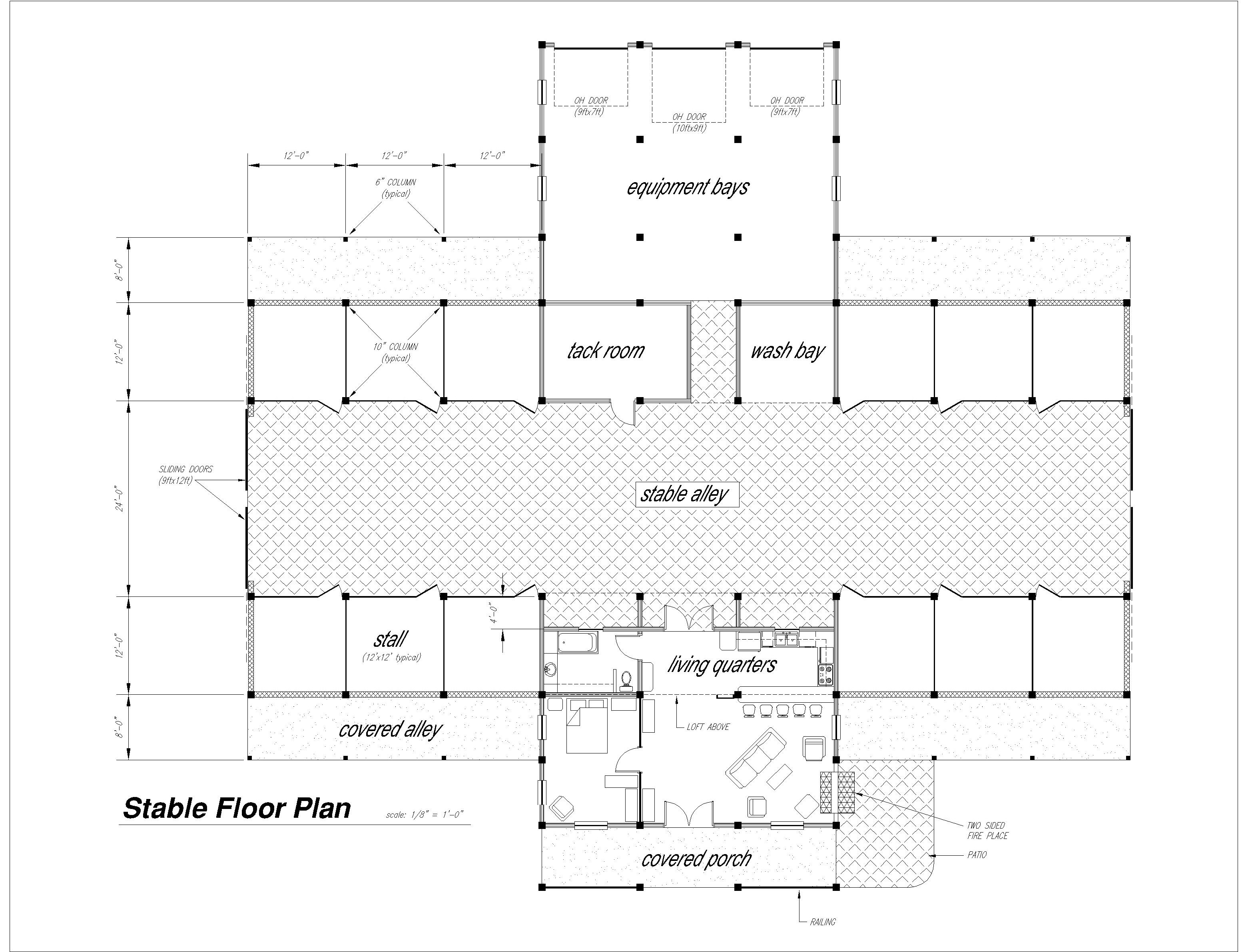 Barn floor plan at riverview stables barn wedding layout for Barn floor plan