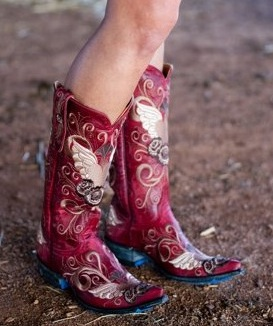 Old Gringo Grace Red Boots L639-3
