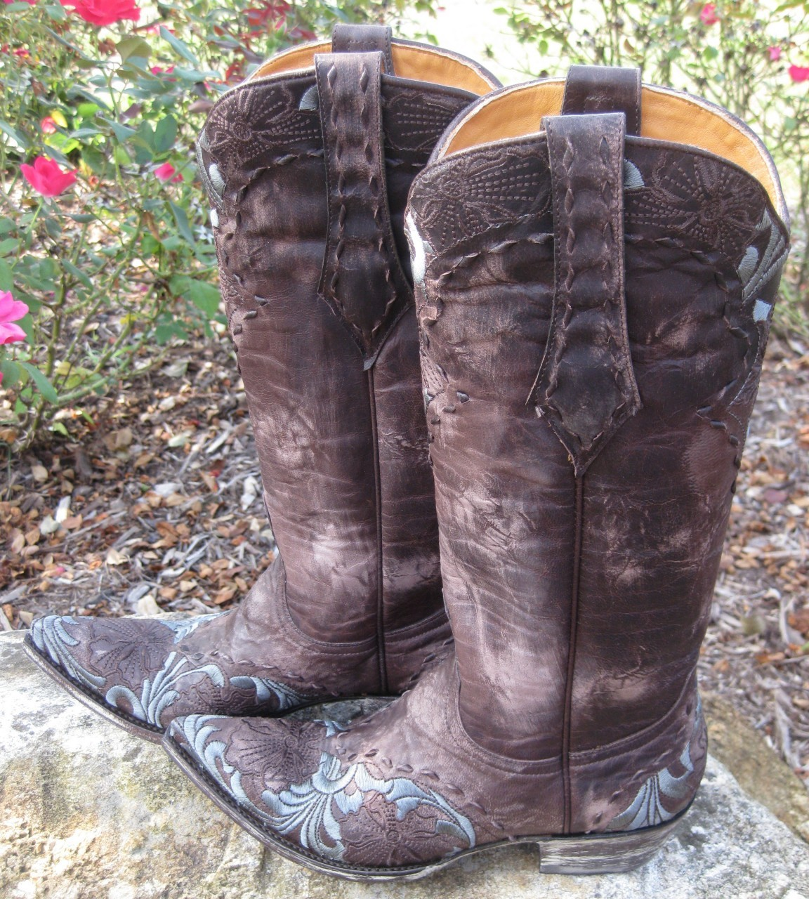 Old Gringo Erin Chocolate Boots L640-1