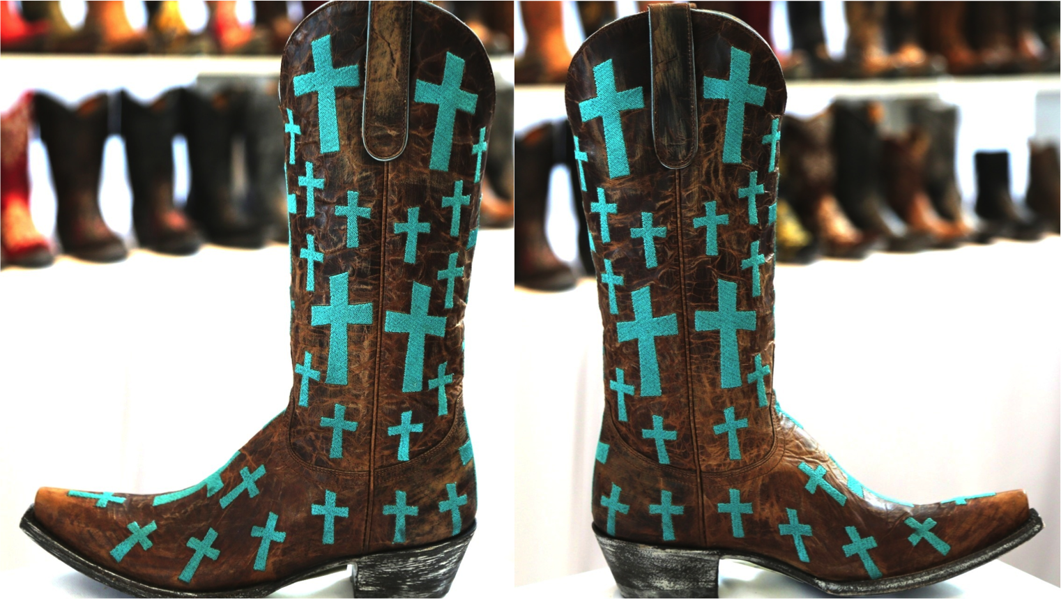 Old Gringo Boots Oh My God Turquoise L1656-1